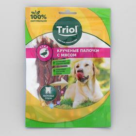 Крученые палочки с уткой для собак, 70г