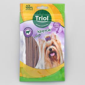 Хворост Triol из ягненка для мини-собак, 50 г