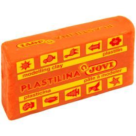 Пластилин 50г JOVI, оранжевый 7004