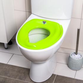 Сиденье на унитаз, цвет зеленый Ош