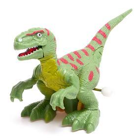 Игрушка заводная «Тираннозавр», световые эффекты, цвета МИКС