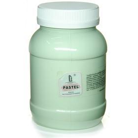 Краска акриловая 500 мл, LUXART Pastel, цвет зелёный окись пастельный A9V500