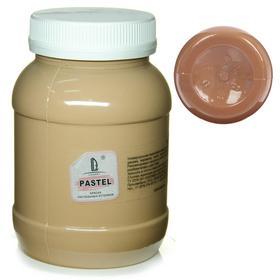 Краска акриловая 500 мл, LUXART Pastel, цвет коричневый пастельный A22V500