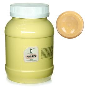 Краска акриловая 500 мл, LUXART Pastel, цвет охра пастельный A25V500