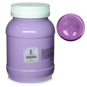 Краска акриловая 500 мл, LUXART Pastel, цвет фиолетовый тёплый пастельный A17V500