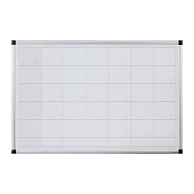 Доска-планинг магнитно-маркерная 60х90 см, Calligrata, в алюминиевой рамке