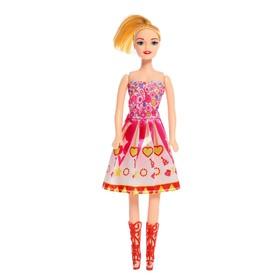 Кукла модель «Даша» в платье, МИКС