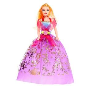 Кукла модель «Лиза» в платье, МИКС