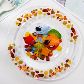 Тарелка «Ми-Ми-Мишки. Весёлый урожай», d=19 см