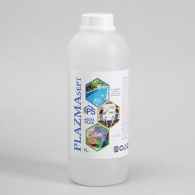 Дезинфицирующее средство Plazmasept aqua plus для аквариумов, 1 л