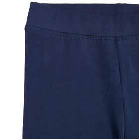 Брюки для девочки, рост 140 см, цвет тёмно-синий