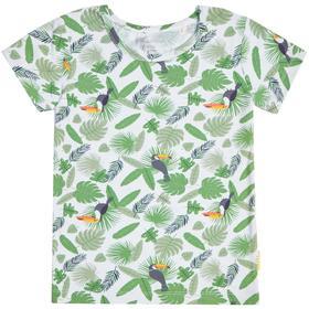 Пижама для мальчика, рост 140 см, принт джунгли