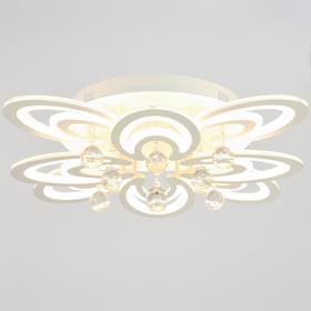 Люстра с ПДУ 21055 76Вт LED 3000-6500К белый 68х68х19 см
