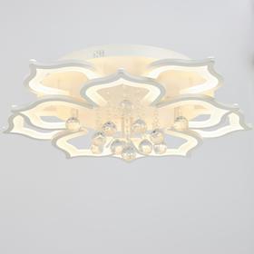 Люстра с ПДУ 78055 80Вт LED 3000-6500К белый 75х75х21 см