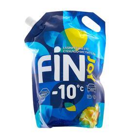 Незамерзающий очиститель стёкол FIN JOY INDIGO тропический манго, -10, 3 л