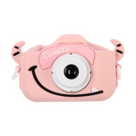 """Детский цифровой фотоаппарат Cartoon Digital Camera Bull """"Бычок"""", модель 5654057, розовый"""