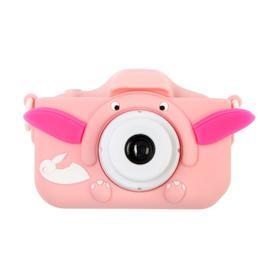 """Детский цифровой фотоаппарат Cartoon Digital Camera Dandy """"Слоник"""", модель 9911564, розовый"""