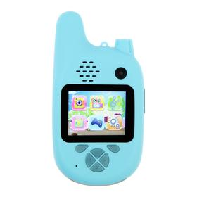 Детский цифровой фотоаппарат Walkie Talkie HD, с рацией, модель 5207947, синий
