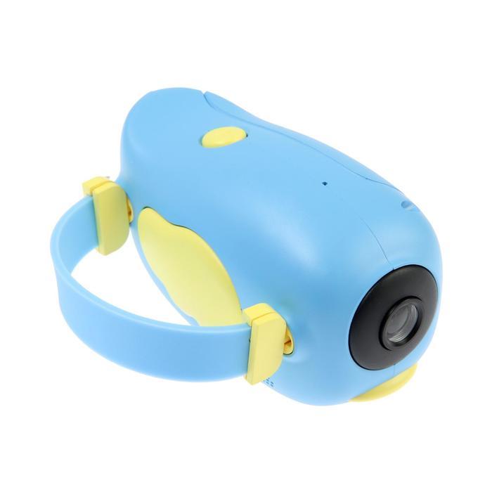 """Детский цифровой фотоаппарат Wings """"Птичка"""", модель 2727738, голубой - фото 762963"""