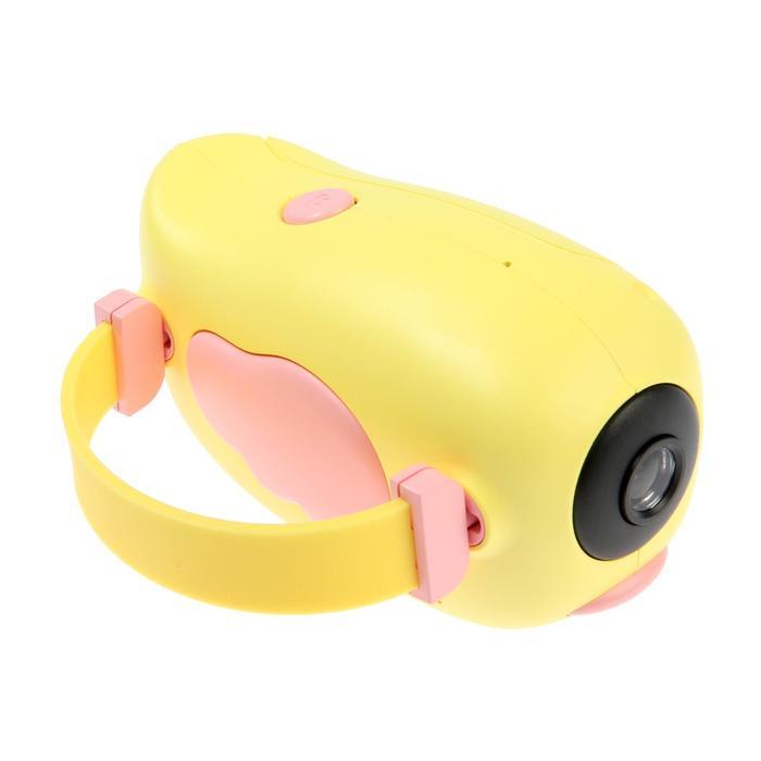 "Детский цифровой фотоаппарат Wings ""Птичка"", модель 2727738, желтый - фото 762971"