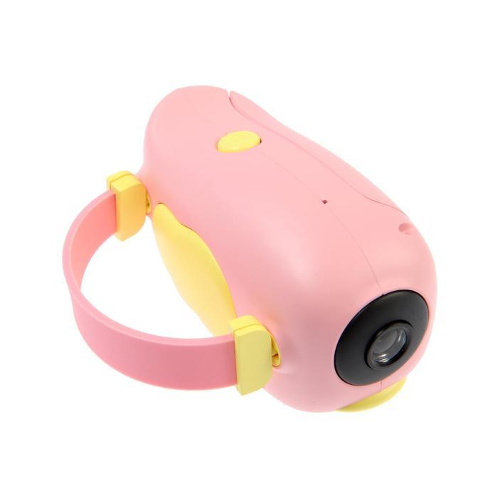"""Детский цифровой фотоаппарат Wings """"Птичка"""", модель 2727738, розовый - фото 762979"""