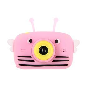 """Детский цифровой фотоаппарат Children's Fun Camera Bee """"Пчела"""", модель 4356857, розовый"""