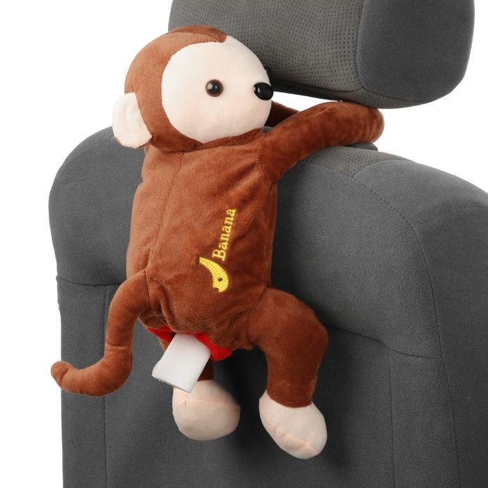"""Салфетница в автомобиль на спинку сиденья """"обезьянка"""" - фото 2022679"""