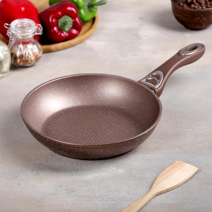 Сковорода кованая «Соты», d=28 см, индукция - фото 763061