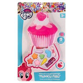 Косметика для девочек «Мой маленький пони. Пинки Пай», тени для век, помада
