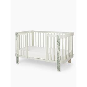 Расширение к кроватке Mommy love, цвет серый