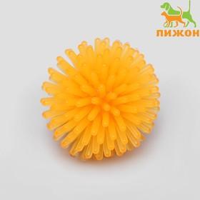 Cat ball needle, soft, 3.5 cm, yellow