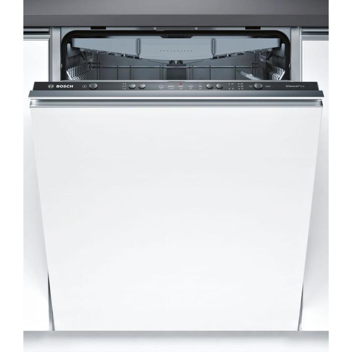 Посудомоечная машина Bosch SMV25EX01R, класс А, 13 комплектов, 5 программ, белая