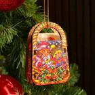 """Christmas tree toy """"Basket"""", mix, 9,2*6,2*3,2 see"""