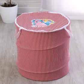Корзина с замочком «Мои любимые игрушки» 43х42 см