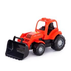 Трактор-погрузчик «Крепыш», цвета МИКС