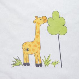 Ткань тюлевая «Весёлые жирафы» ширина 280 см