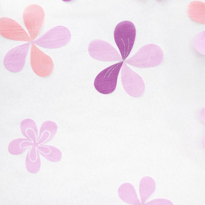 Ткань тюлевая «Цветы лета» ширина 280 см
