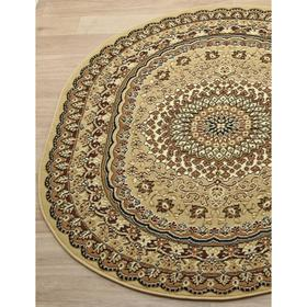 Овальный ковёр Laguna d504, 80x150 см, цвет beige