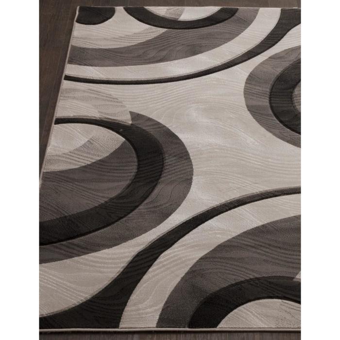 Ковёр прямоугольный Mega carving 4783, размер 200x300 см, цвет gray - фото 7929470