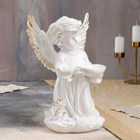 """Статуэтка """"Ангел с чашей"""", золото, 33 см"""