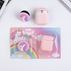 """Case for headphones and popsocket """"make your dreams come True"""", 15.5 x 11 cm"""