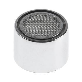 Аэратор ZEIN, внутренняя резьба, d=22 мм, сетка металл, корпус пластик, цвет хром Ош