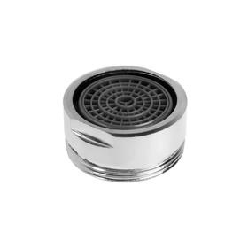 Аэратор ZEIN, наружная резьба, d= 24 мм, сетка пластик, корпус металл, цвет хром Ош