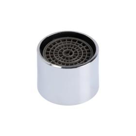 Аэратор ZEIN, внутренняя резьба, d=22 мм, сетка пластик, корпус металл, цвет хром Ош