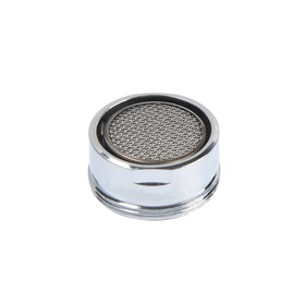 Аэратор ZEIN, наружная резьба, d=24 мм, сетка металл, корпус металл, цвет хром Ош