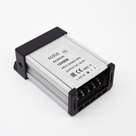 Блок питания для светодиодной ленты Ecola, 60 Вт, 220-12 В, IP53