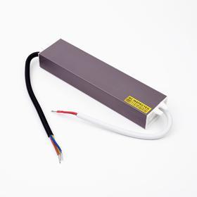 Блок питания для светодиодной ленты Ecola, 60 Вт, 220-12 В, IP67