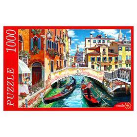 Пазлы 1000 элементов «Венецианский канал»