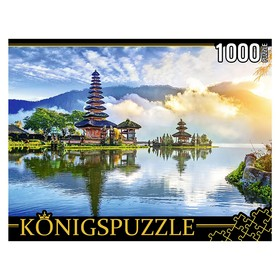 Пазлы 1000 элементов «Остров Бали. Храм Пура Улун Дану»