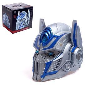 """Шлем трансформера """"Автобот Оптимус"""", световые и звуковые эффекты, работает от батареек"""
